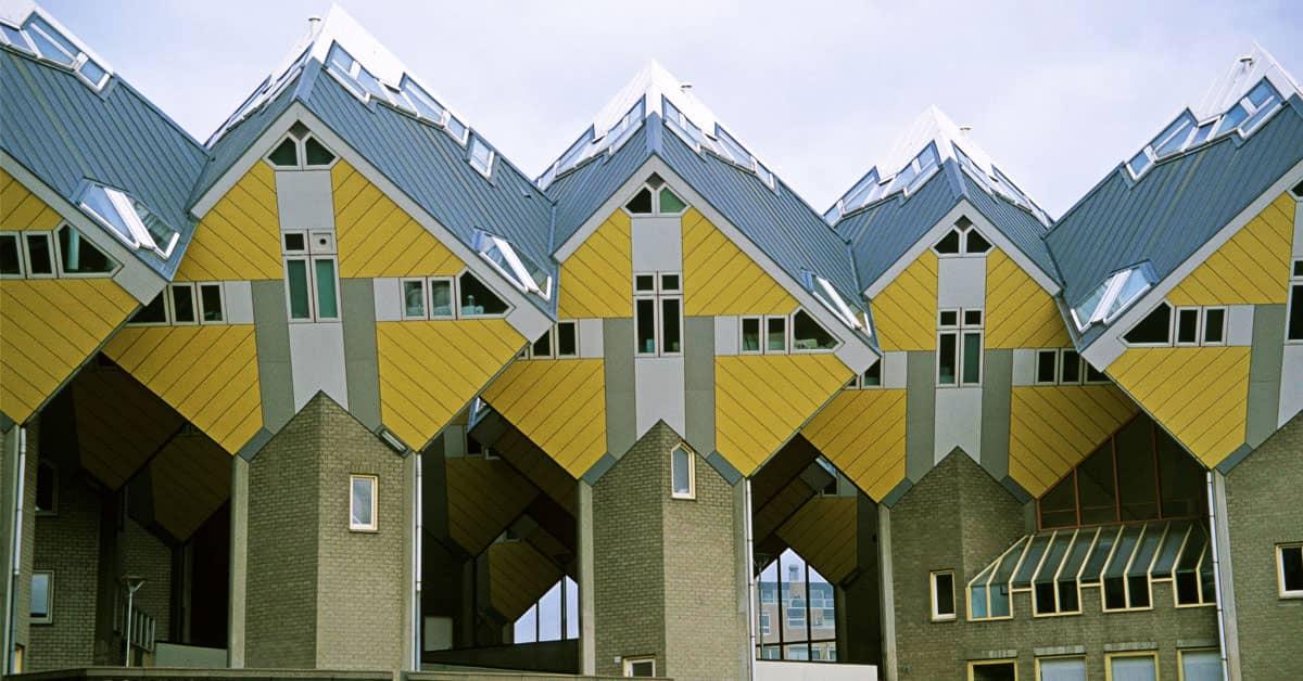 Casas cúbicas Rotterdam Holanda - Países Bajos