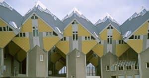 Casas-Cúbicas-Rotterdam