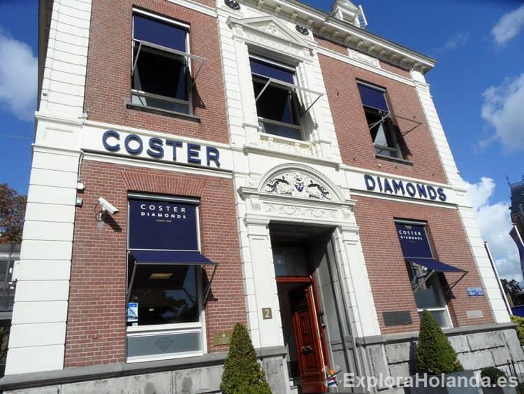 Coster Diamonds Amsterdam Holanda - Países Bajos