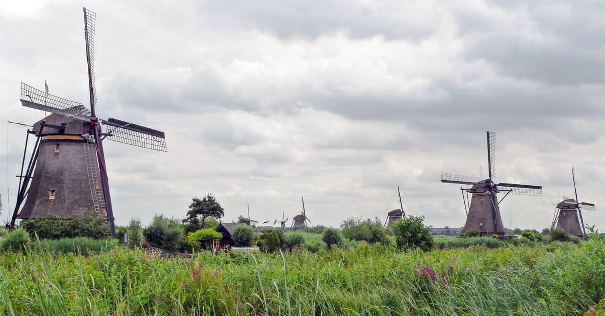 Kinderdijk Holanda - Países Bajos