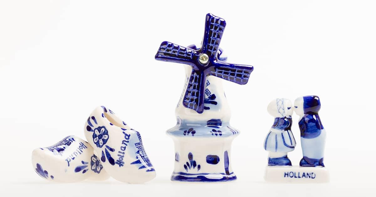 Ceramica de Delft Holanda - Países Bajos