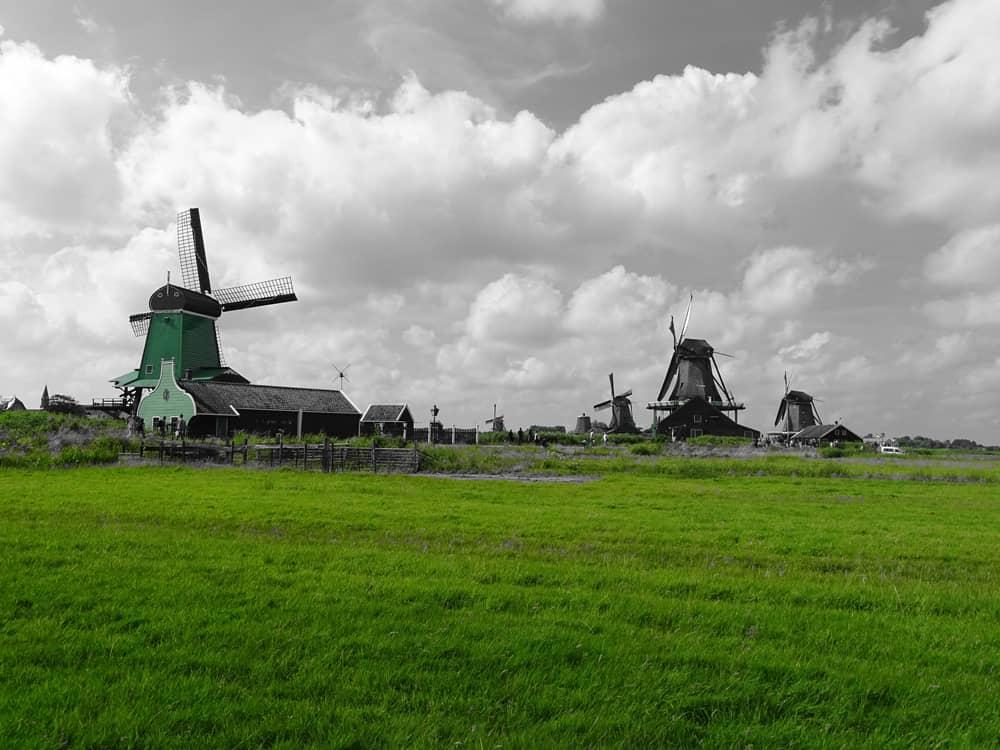 Zaanse Schans Holanda - Países Bajos