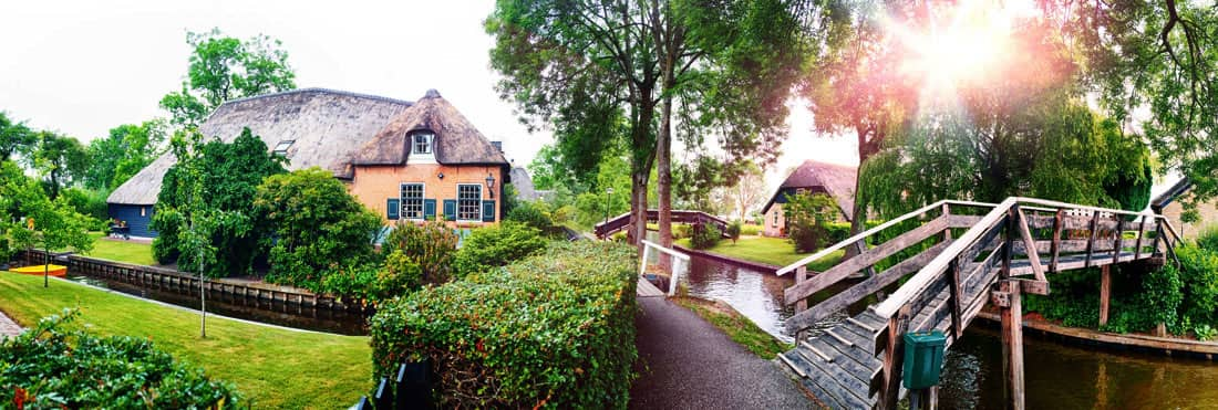 Giethoorn Holanda - Países Bajos