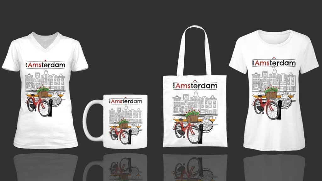 Love Amsterdam! Products Teespring
