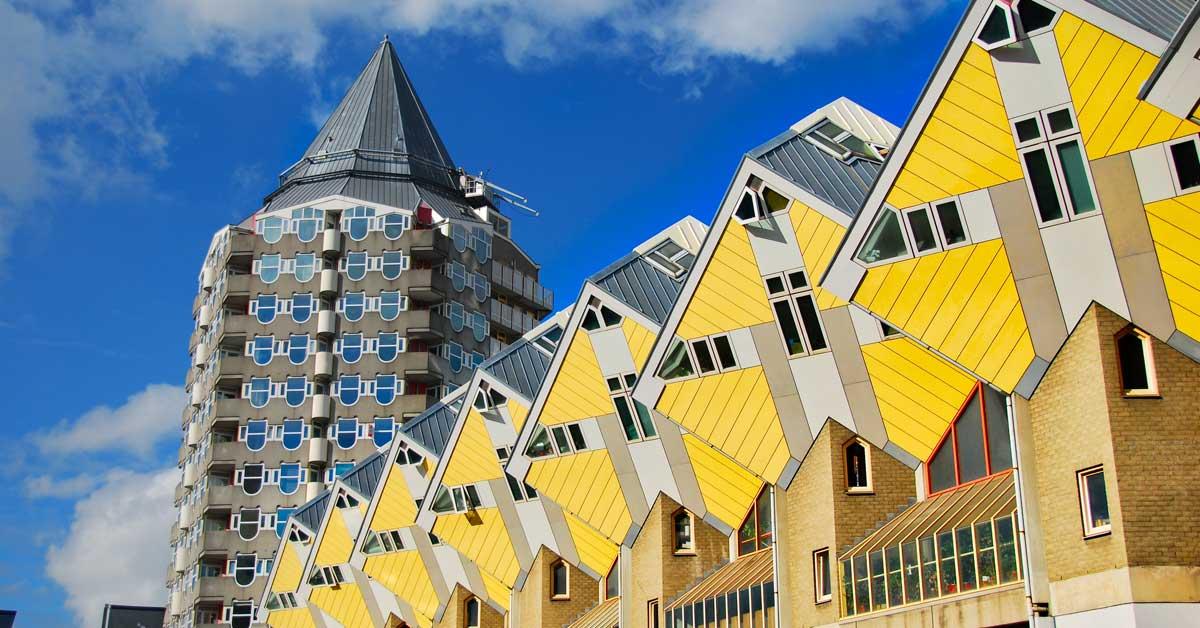 Casas cúbicas Holanda - Países Bajos