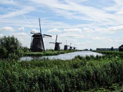 Kinderdijk Molinos Holanda - Países Bajos
