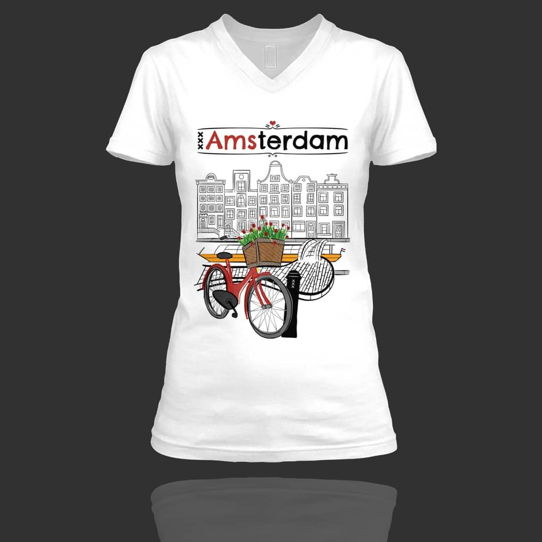 love-amsterdam-v-neck